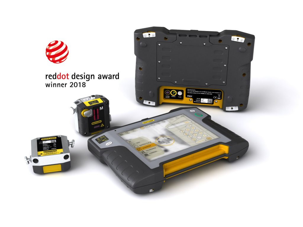 EasyLaser wins Red Dot 2018