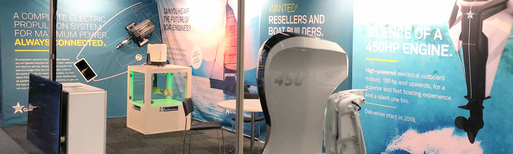 Greenstar Marine booth at METS 2018 Shift Design & Strategy